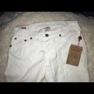 White true religion jeans